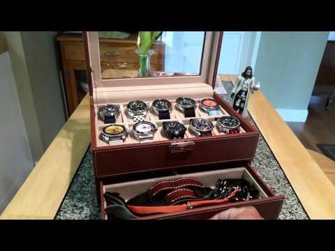 , title : 'SONGMICS 10 Watch Storage /Display case'