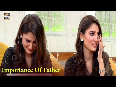 Nimra Ali Got Emotional While Discussing About Her Father