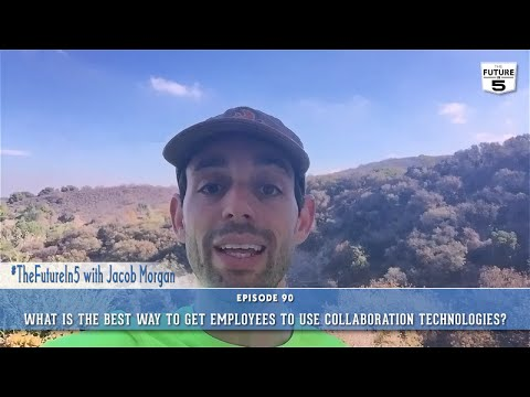The Number One Way To Get Employees To Use Collaboration Technologies