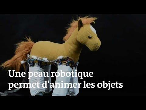 Une peau robotique permet d'animer les objets (видео)