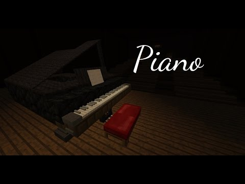 Octaves, Pedals, Animated Keys, and Music Playing! Minecraft Project