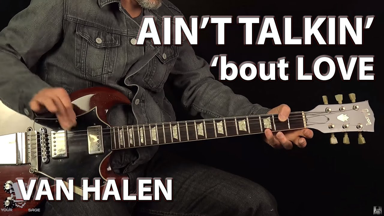 Ain't Talkin' 'bout Love Van Halen – Guitar Lesson
