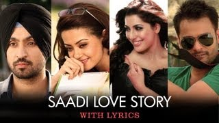 Sing along to the tunes of this romantic title track 'Saadi Love Story' sung in the melodious voice of Kunal Ganjawala & Sumitra Iyer. Film – Saadi Love Story ...
