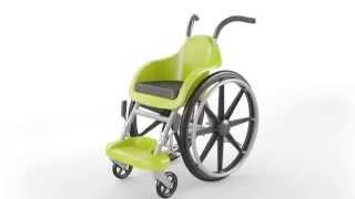 wheelchair of hope- סרטון המציג את כיסא הגלגלים