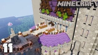 Let's Build a Castle #11 GRAND HALL : MINECRAFT 1.13.2 Survival Let's Play