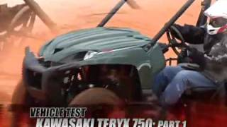 1. ATV Television Test - 2008 Kawasaki Teryx 750 Part 1 of 2
