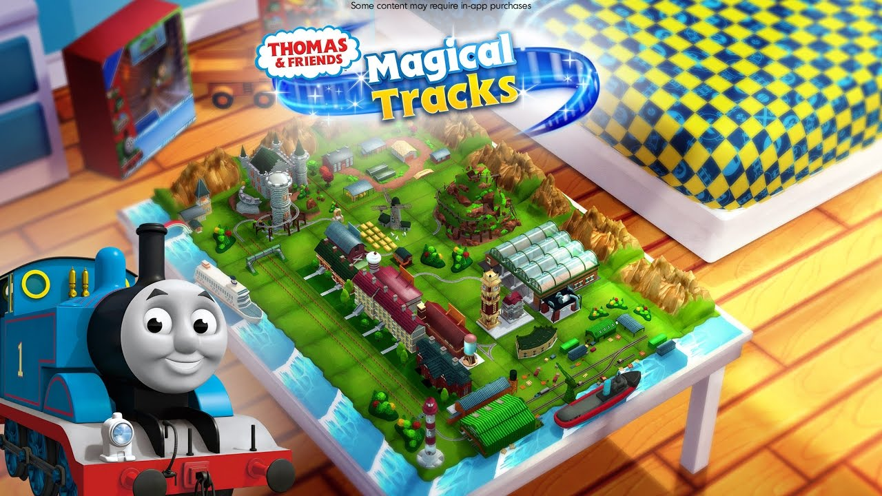 Thomas & Friends: Magical Tracks - Kids Train Set