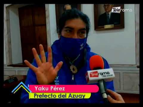 Prefectura del Azuay presenta concurso para reactivar la economía en la Provincia