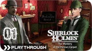 Sherlock Holmes (Video Games) - The Mystery Of The Persian Carpet - Pt.1