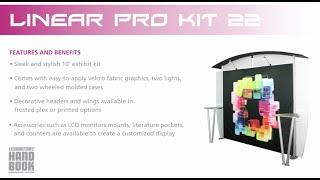 Linear Pro Exhibit Kit 22