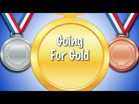 ⚽️  *Going For Gold* | Sports day song |  karaoke lyrics | kids and schools  ⚽️