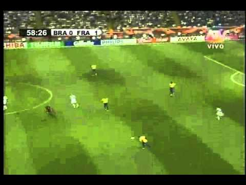 Francia vs Brasil - La Grandeza de Zidane [ Parte 8 ]