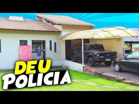 DEU POLICIA na CASA dos YOUTUBERS ( FUI EXPULSO ) ‹ Dudu Moura › (видео)
