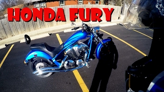 6. First Ride/Review 2016 Honda Fury 1300cc
