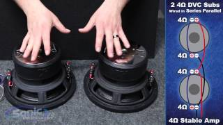 Video How to Wire Two Dual 4 ohm Subwoofers to a 4 ohm Final Impedance   Car Audio 101 MP3, 3GP, MP4, WEBM, AVI, FLV Agustus 2018