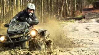 7. Can am XMR 1000 Test Ride  (Music by Simplex- Memories)