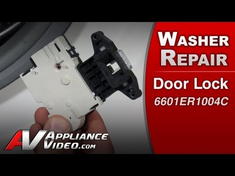 Door Lock – Washer Repair (LG # 6601ER1004C Replacement Part)