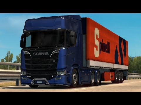 Scania NextGen Low Chassis 1.30.x