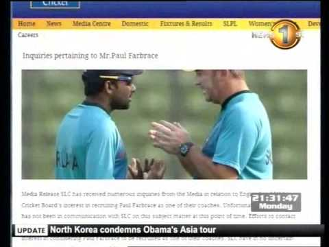 Warne and Samuels exchange words and Malinga replies with ball