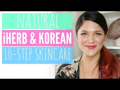 Natural iHerb & Korean 10-Step Skincare Routine l URBANWIT