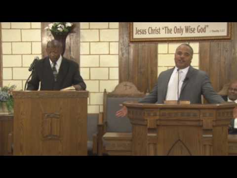 "Apostle L. C. Mathis: Before the day was ""I AM HE"" BC Clip 4007 # 1"