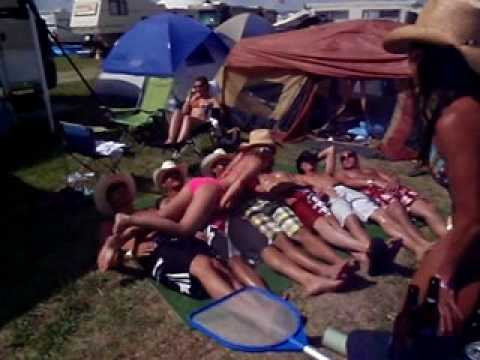 Redneck Slip N' Slide – Country Jam 2010