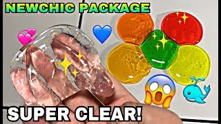 Video SUPER CLEAR SLIME! SLIME SET! BARREL O SLIME! NEWCHIC SLIME PACKAGE MP3, 3GP, MP4, WEBM, AVI, FLV Februari 2018