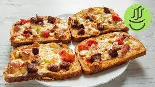 Bayat Ekmek PizzasıMalzemeler:4 büyük dilim ekmek2 adet yumurta1 çay bardağı süt1 çay kaşığı tuz, kırmızı biber, kekik8-10 dilim sucuk4-5 dilim beyaz peynir ya da arzu ettiğiniz başka peynir5-6 dilim kaşar peyniri1 adet çarliston biber1 küçük domatesHazırlanışı:Yumurta süt ve baharatları iyice çırpın. İçine dilimlenmiş sucukları peynirleri biber ve domatesi ekleyip karıştırın. ekmek dilimlerinin üzerine koyup önceden ısıtılmış 180 derece  fırınlayın. Nar gibi kızardığında tarifiniz hazır. Afiyet olsun.Bayat ekmekle ne yapılır? Sabah kahvaltıya farklı ve lezzetli bri tarif ne yaparım diyorsanız doğru videodasınız. Ekmek pizza ya da diğer adıyla fırında yumurtalı ekmek yapması çok kolay bir tarif.. Zevkinize göre çeşnilendirmeniz mümkün. Bayat ekmekli tariflerin en lezzetlisi.. Videomuzda bayat ekmek nasıl değerlendirilir? bayat ekmekten kahvaltılık nasıl yapılır?  fırında yumurtalı ekmek tarifi , ekmek pizza tarifi gibi sorulara yanıt bulabileceksiniz..Lazanya Hamurundan Kolay Yalancı Su Böreği videosu:https://youtu.be/O99FMPPPlbMTavada Bayat Ekmek Böreğivideosu:https://youtu.be/wZYQSHRjuI0Abone olmak için: http://goo.gl/7pm0MGBeni takip etmek için:https://instagram.com/misssgibihttps://www.facebook.com/misssgibihttps://twitter.com/misssgibi