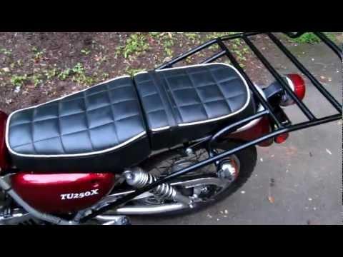 Motorcycle – Rear Rack Install – Suzuki TU250x – CycleRacks.com