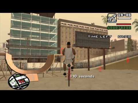 gta game - Starter Save - Part 20 - The Chain Game - GTA San Andreas PC - complete walkthrough (showing all details) - achieving ??.??% Game Progress before doing the s...