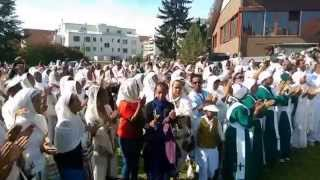 Ethiopian Orthodox Tewahedo Celebration Of Demera At St  Mary Church In Zurich, Switzerland, Final