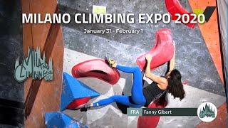 Milano Climbing Expo 2020 by Bouldering TV