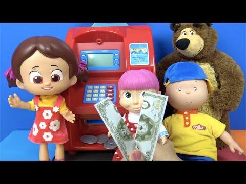 Video Maşa'nın parası yırtılıyor ✔︎ Cailou ve Niloya oyuncak ATM makinesinde Heidi Merkez bankası memuru download in MP3, 3GP, MP4, WEBM, AVI, FLV January 2017