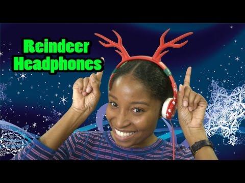 Reindeer Headphones from iclever