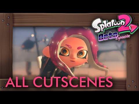 Splatoon 2 - Octo Expansion: All Cutscenes The Movie HD (видео)