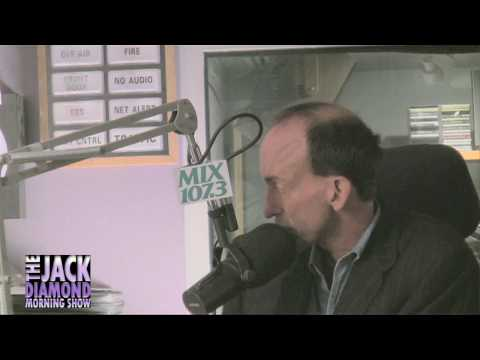 BRETT LEAKE on the JACK DIAMOND MORNING SHOW