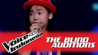 "Video Jane ""Don't Rain On My Parade"" I The Blind Auditions I The Voice Kids Indonesia 2016 MP3, 3GP, MP4, WEBM, AVI, FLV Oktober 2017"