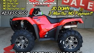 8. Honda Foreman Rubicon 500 IRS ITP Wheels & Tires / ATV SALE - TN GA AL : Honda of Chattanooga