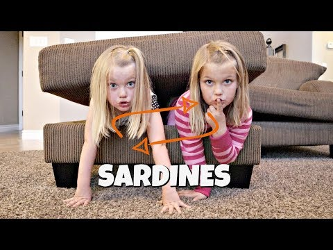 SWITCH UP SARDINES! | HIDE AND SEEK