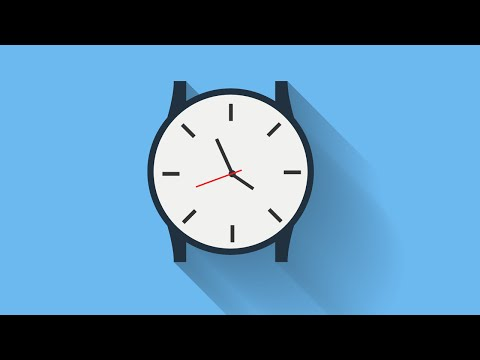 Flat Design Watch - Illustrator Tutorial