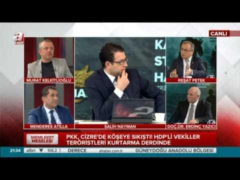 Reşat Petek: PKK'nın amacı propaganda