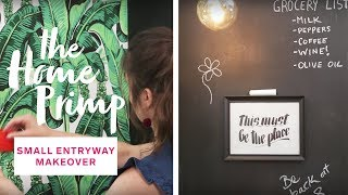 Small Entryway Ideas: Major Makeover On A Budget | The Home Primp