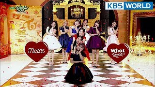 Video TWICE (트와이스) - What is Love? [Music Bank HOT Stage / 2018.04.13] MP3, 3GP, MP4, WEBM, AVI, FLV April 2018