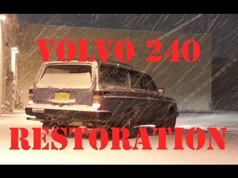 Volvo 245 stance снимок