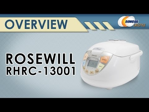 Rosewill RHRC-13001 5.5-Cup(Uncooked) Fuzzy Logic Rice Cooker Overview – Newegg Lifestyle