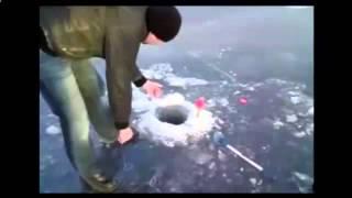 Зима 2015 приколы на рыбалке. Смеяться могут не только рыбаки.