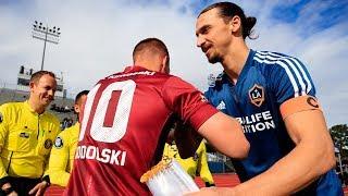 Video HIGHLIGHTS: LA Galaxy defeat Andres Iniesta, Lukas Podolski, and David Villa's Vissel Kobe MP3, 3GP, MP4, WEBM, AVI, FLV Maret 2019