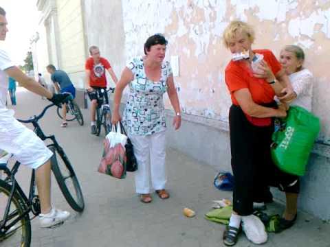 Bójka kobiet w centrum miasta