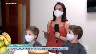 Crianças aprendem sobre qualidade dos alimentos durante pandemia