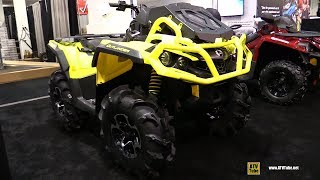 3. 2019 Can Am Outlander XMR 650 Recreational ATV - Walkaround - 2018 Toronto ATV Show
